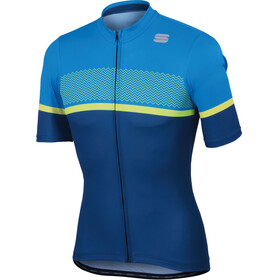 Sportful Frequence Bike Jersey Shortsleeve Men blue/turquoise
